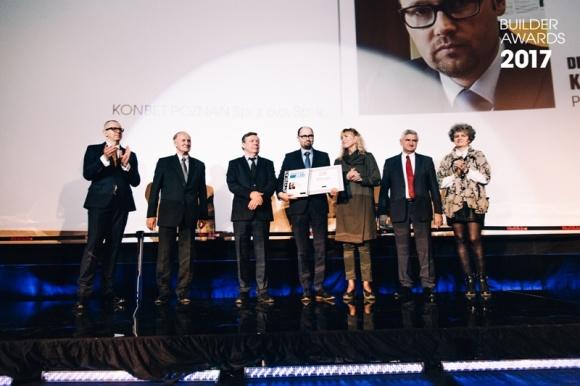 Builder Awards 2017 – KONBET Poznań Budowlaną Firmą Roku, Prezes Zarządu Artur K