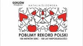 Pracownia Natalii Ślizowskiej stworzy rekordową linię z serc