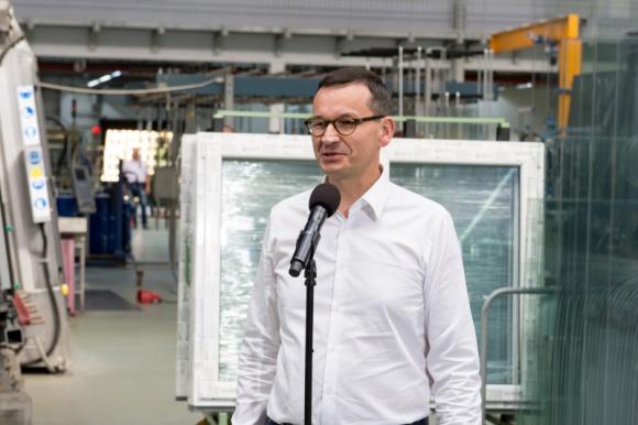 Premier Morawiecki gościem DRUTEXU