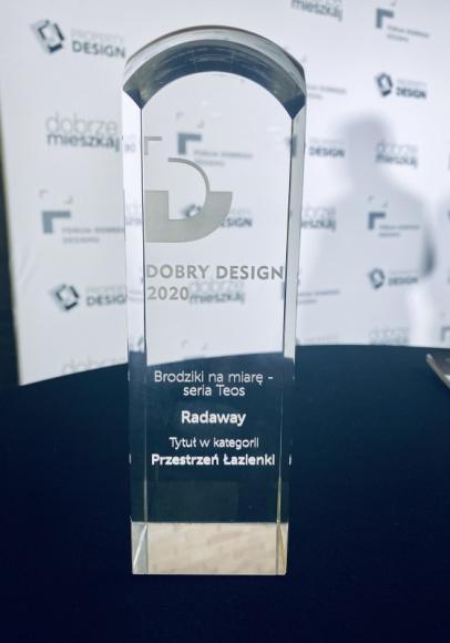 Brodziki Teos Radaway nagrodzone w konkursie Dobry Design 2020